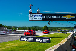 Racers Edge team cars - Road America