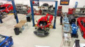 The Racers Edge Motorsports shop
