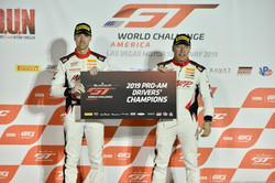Championship podium in Vegas