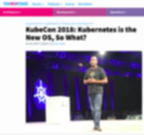 Kubecon Kubernetes is the new OS