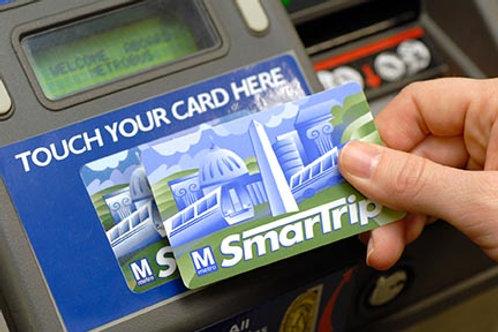 D.C. Metrocard Day Pass (optional)