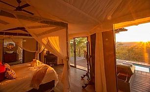 The Elephant Camp, Victoria Falls, Zimba