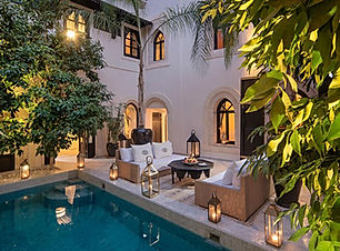 Riad Kheirredine, Marrakech, Morocco TRI