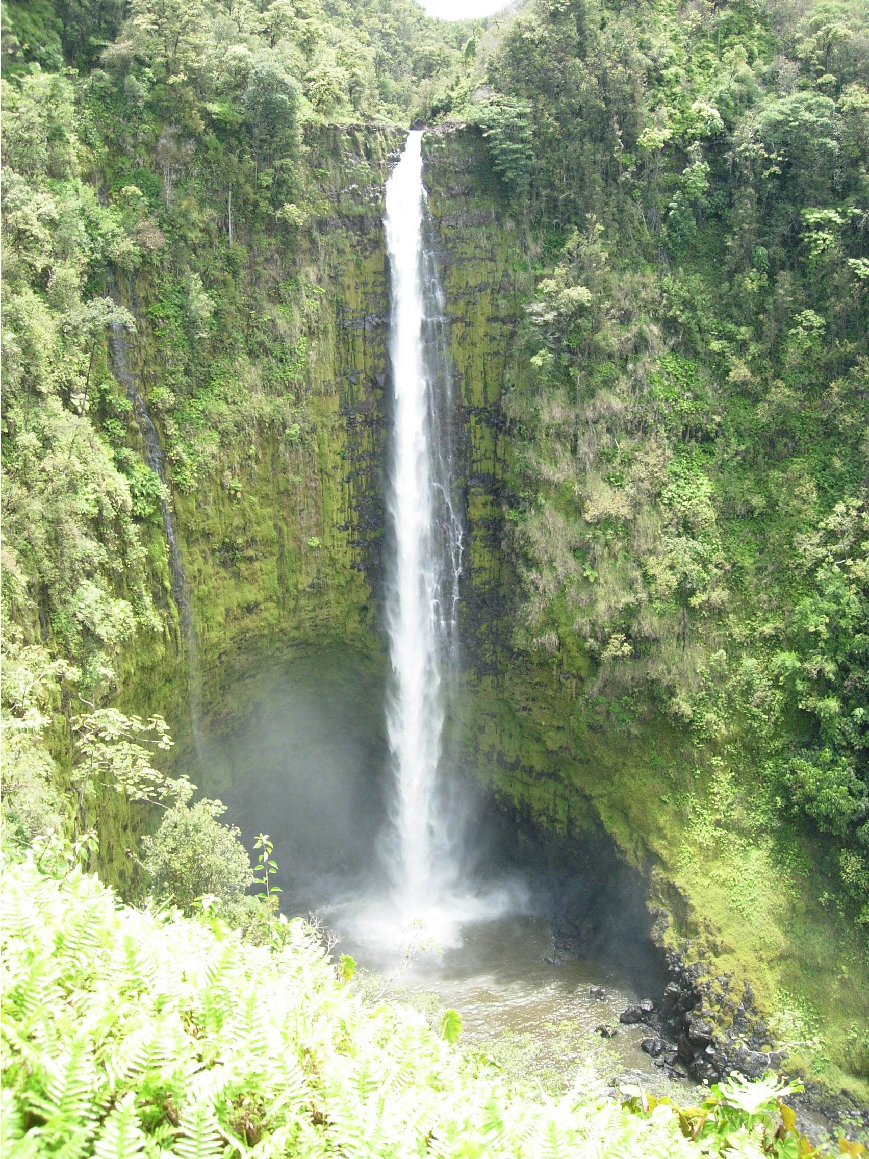Amazing waterfall on Kauai HI