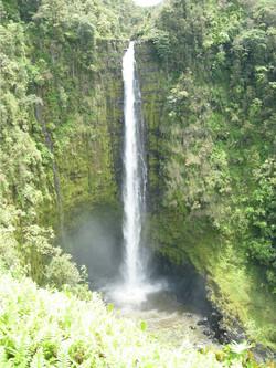 Amazing waterfall on Kauai HI
