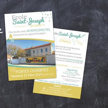 Flyer Portes Ouvertes Ecole