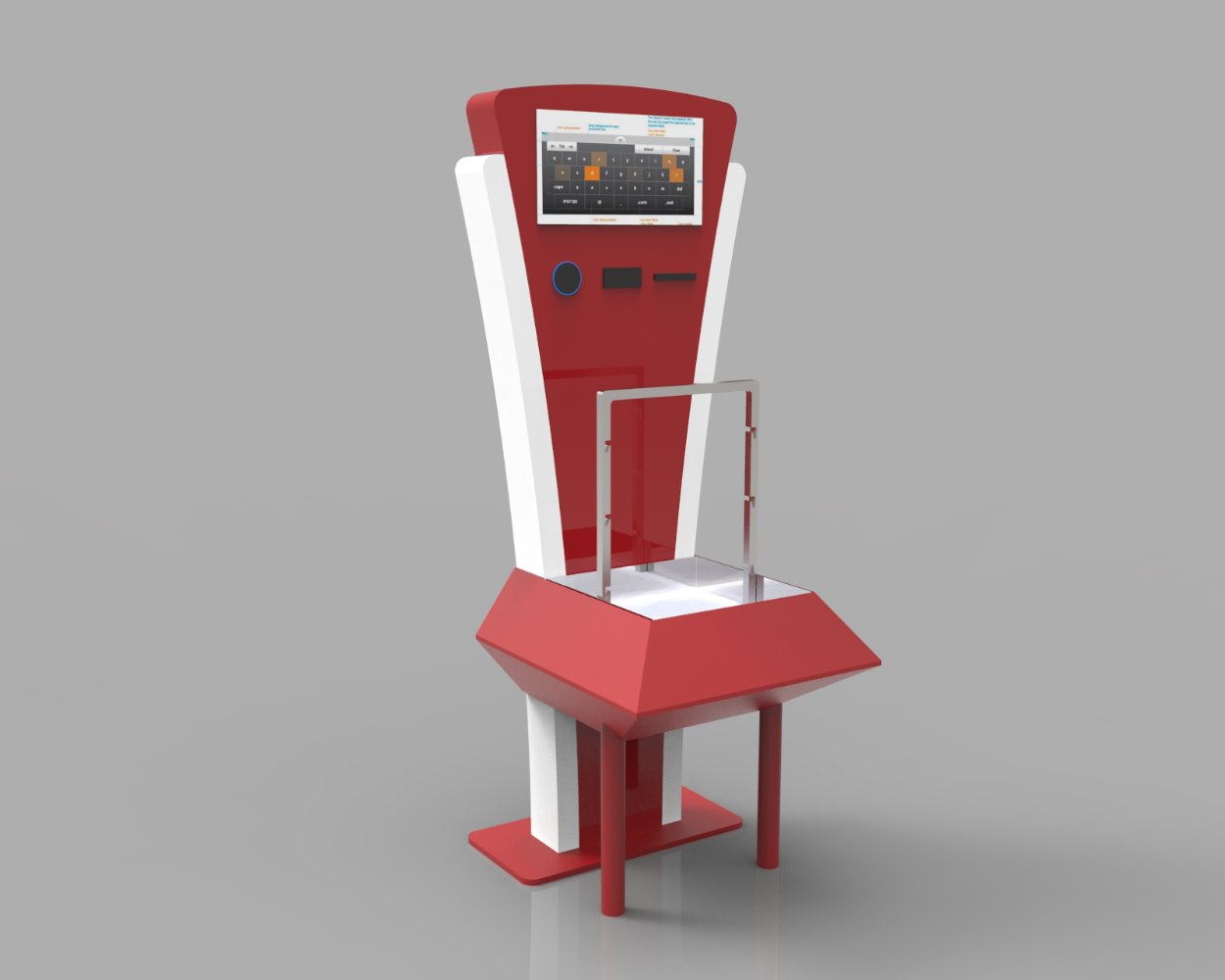 Commercial design research- Kiosks