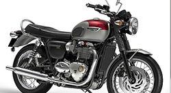 France Moto Road Trip - Triumph Bonnville T120