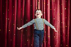 Open Stage Bühne: Clown