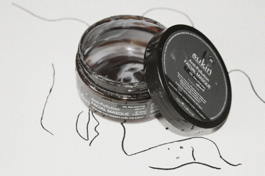 Charcoal Face Mask & sukin products - Eco Blog by Nude Ethics