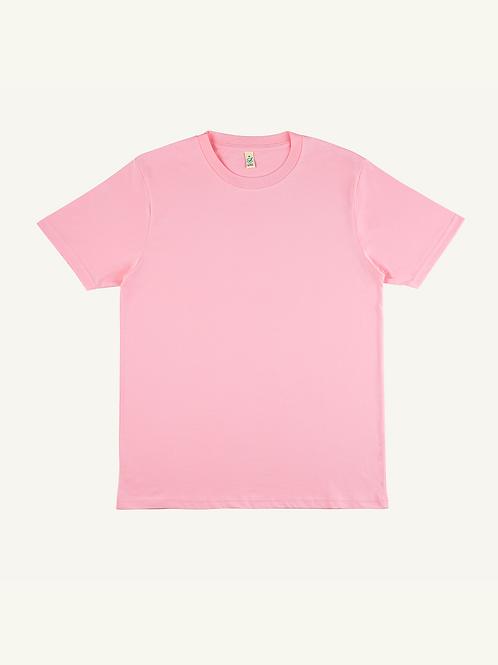 SAMPLE Pink Organic T Shirt - SMALL