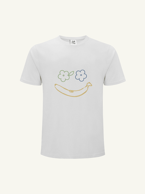 Sweetest Smile Organic White T Shirt by Nude Ethics