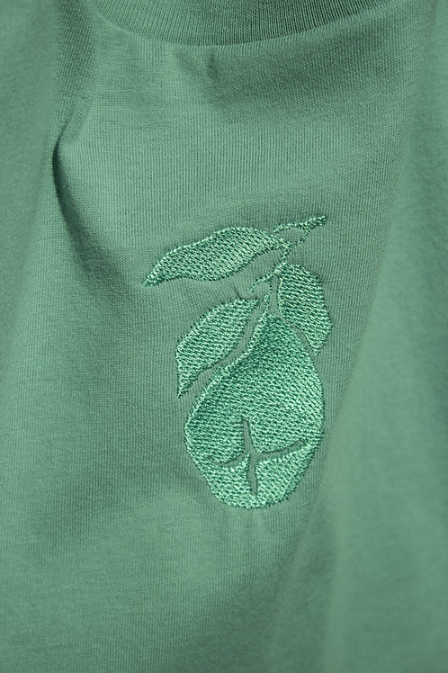 SAMPLE Little Pear Organic Sage Green T Shirt by Nude Ethics - SMALL