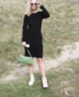 Nude Ethics illustrative organic cotton midi dress - Nude Ethics Blog