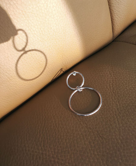 Ecological Ethical recycled silver by ARCA, sold by Nude Ethics