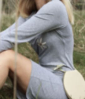 Nude Ethics ethical and ecological clothing collection - image of Organic Daisy Dress