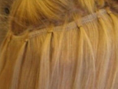 Micro Link Beaded Weft hair Extensions