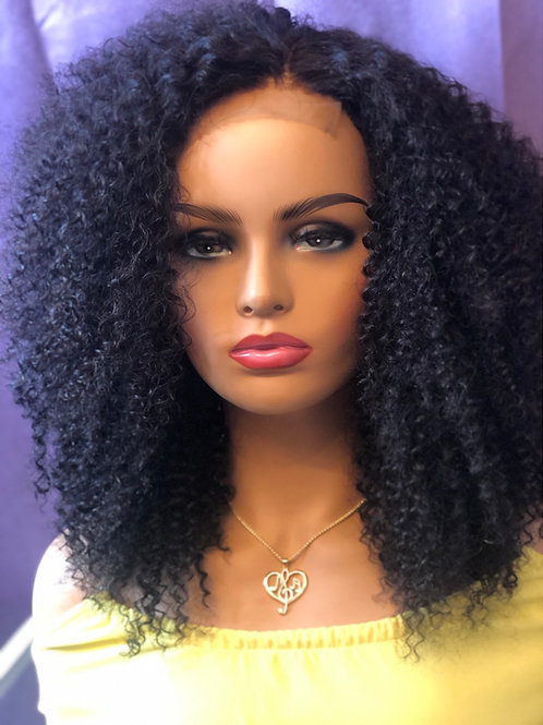 N.W.A - Kinky Curly Lace Closure Wig