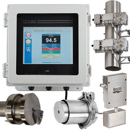 Réfractomètre LSC pour procédés industriels et biotechnologique
