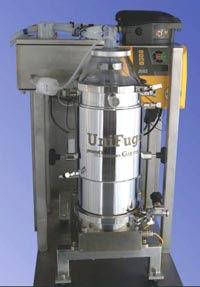 Centrifugeuse cellules et bactéries Unifuge à usage unique