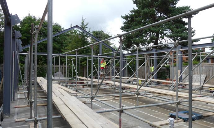 More scaffolding