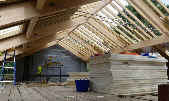 New roof space