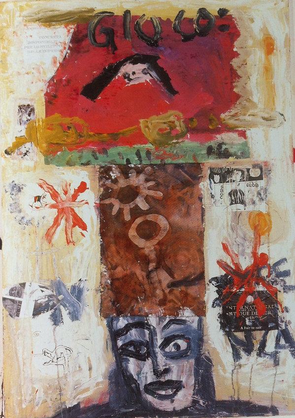 Heinrich Nicolaus, gioco, collage and mi