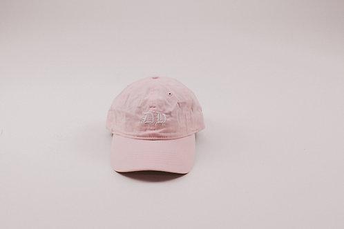 """""""DH"""" Pink Dad Hat"""
