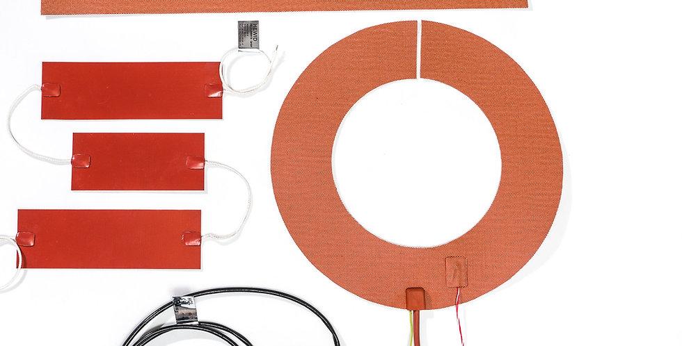 Silikonheizelemente/ WINDpower Heizmatten / Silikonfassheizer / IBC Heizer