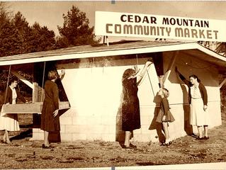 CEDAR MOUNTAIN NEWS FOR THURSDAY OCTOBER 22, 2020