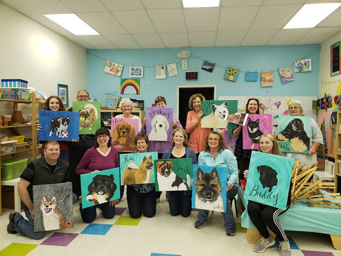 Paint your pet night 2018