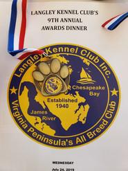 July 2019 awards Dinner