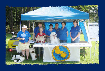 LKC Booth in the park