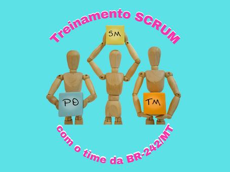 Treinamento Scrum com o time da BR-242/MT