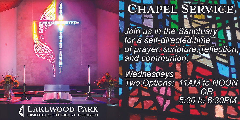 Wednesday Chapel Services