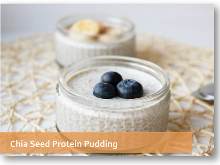 Chia Seed Protein Pudding