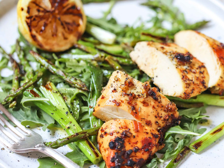 Grilled Lemon Chicken Salad