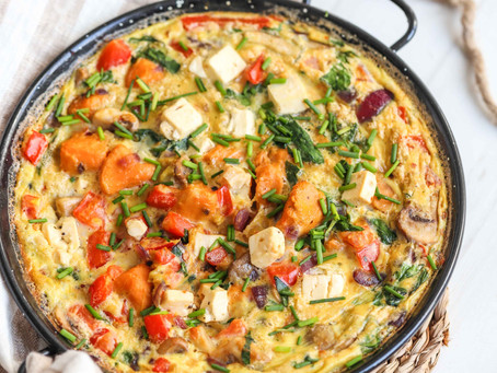 SWEET POTATO SPANISH OMELET