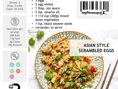 Recipe of the Week:  Asian Style Scrambled Eggs