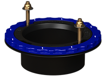 4in Hub Glue-In ABS-Culwell Flange