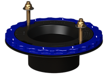 4x3in Hub Glue-In ABS-Culwell Flange
