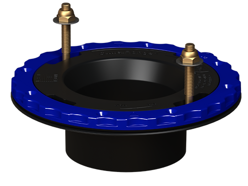 Culwell Flange 4in x 3in Hub Glue-in - ABS