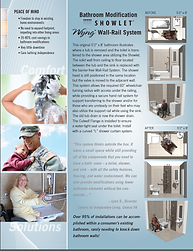 Showlet Wyng Wet room System