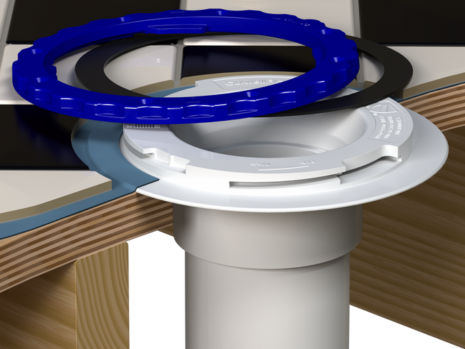 A New Standard in Toilet Flanges- Watertight & Floor Protecting