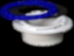 4in. Hub Glue-In PVC- Culwell Flange