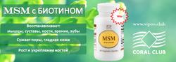 MSM с биотином