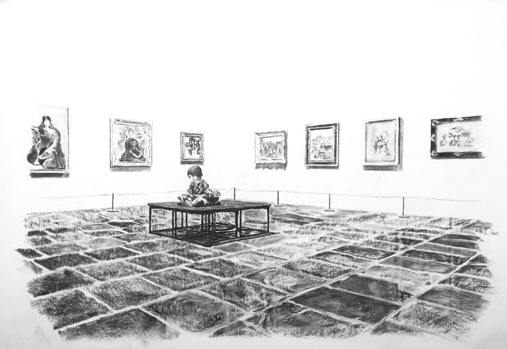 The museum ninja