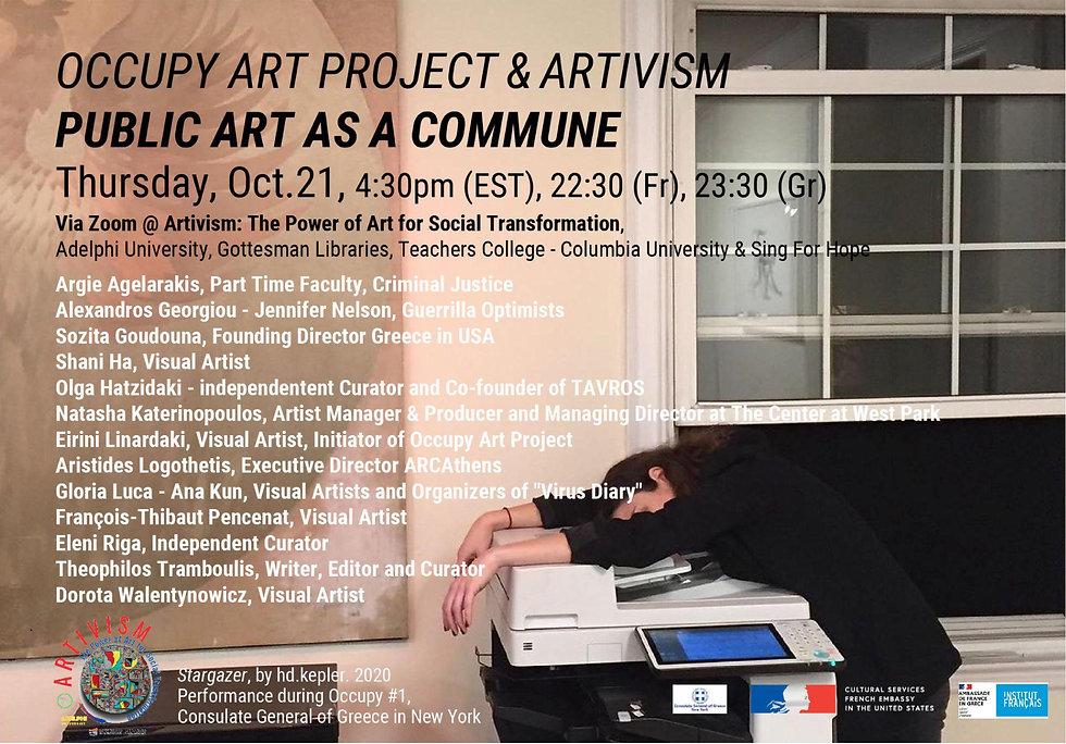 Occupy & Artivism - Public art as a commune -1.jpg