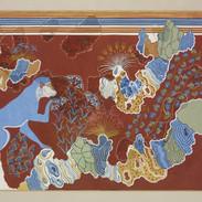 blue monkey fresco fragments