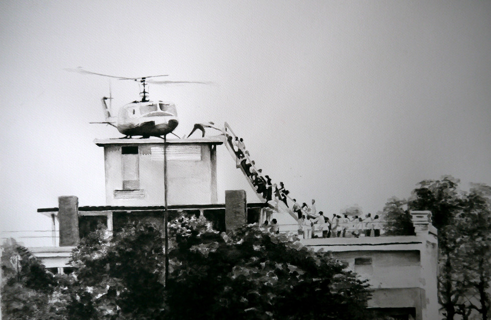 Last helicopter from Saigon